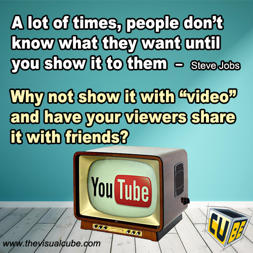 the visual cube vijith premasinghe video marketing youtube quotes 2016
