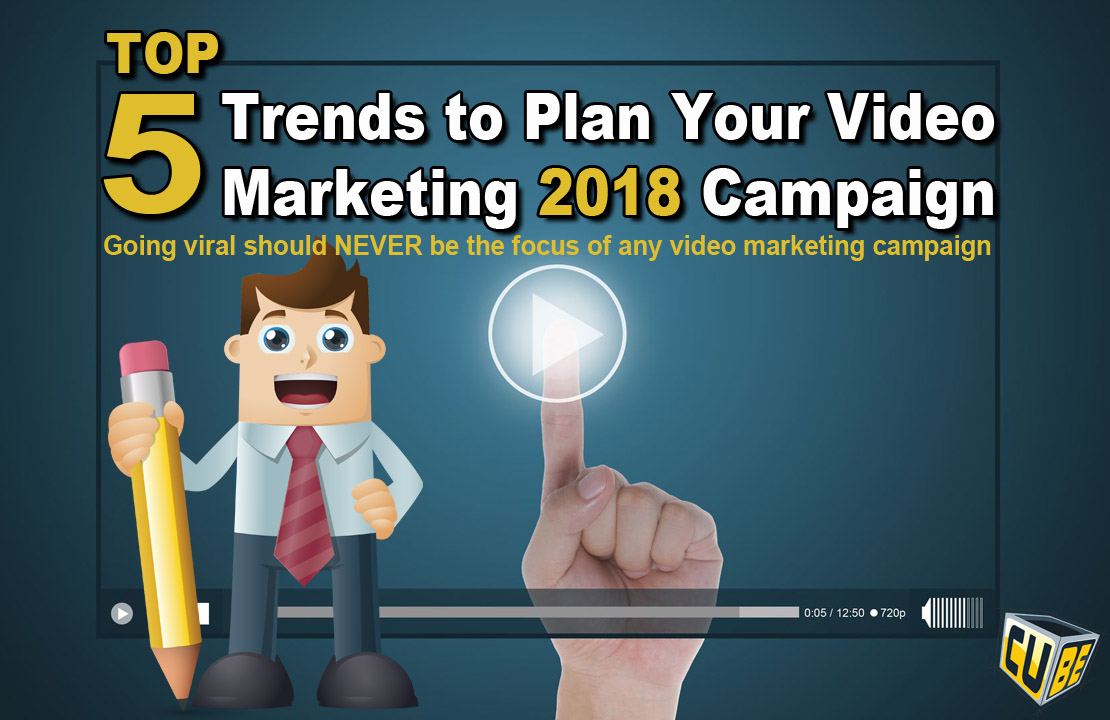 Video marketing infographic 2018