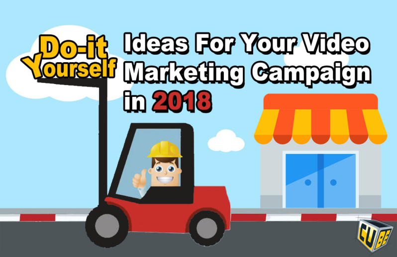 Do it yourself video ideas for your video marketing 2018 campaign if you are a business owner and if you think you cannot afford video or dont know how to get started solutioingenieria Images