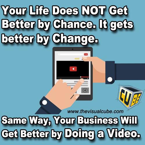 TheVisual Cube Vijith Premasinghe Video Marketing Quotes 2017