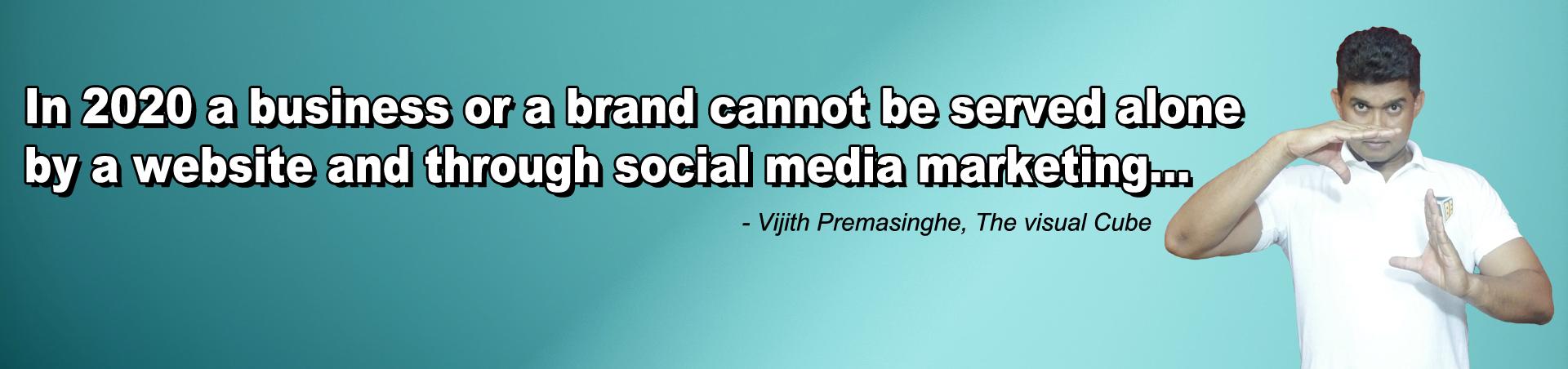 Vijith Premasinghe quote 2020