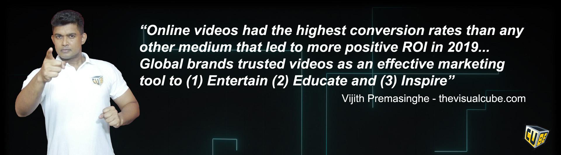 video marketing quotes vijith premasinghe quotes 2020