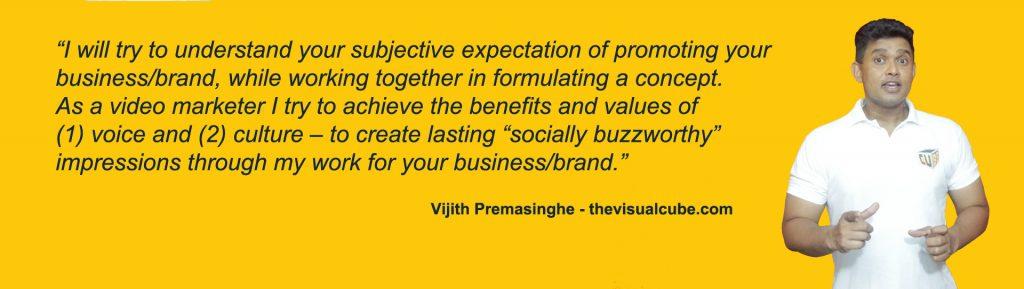 video marketing quotes sri lanka vijith premasinghe quotes 2021